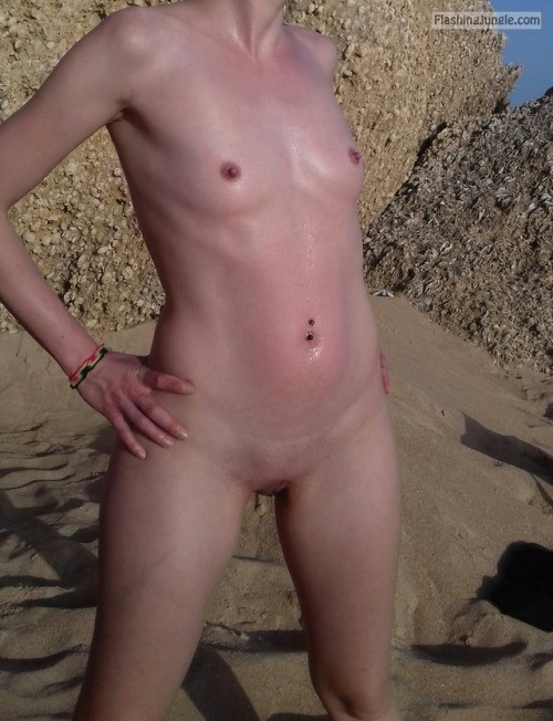 carlotabisex: Beach day / nude day Thanks for sharing public nudity