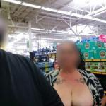 walmartflash:Wifey was feeling brave. We got caught but they…
