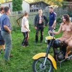 euronudist:exposed biker | More nudism and public flashing here:…
