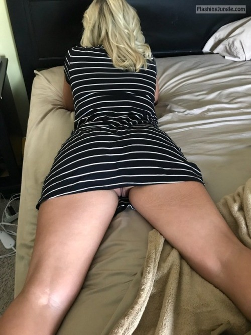 Are Wife upskirt panties