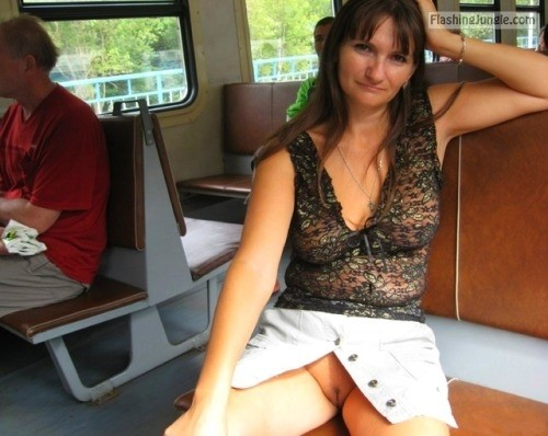 Photo upskirt pussy flash public flashing milf pics mature