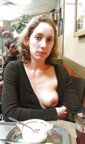 Photo public flashing howife boobs flash