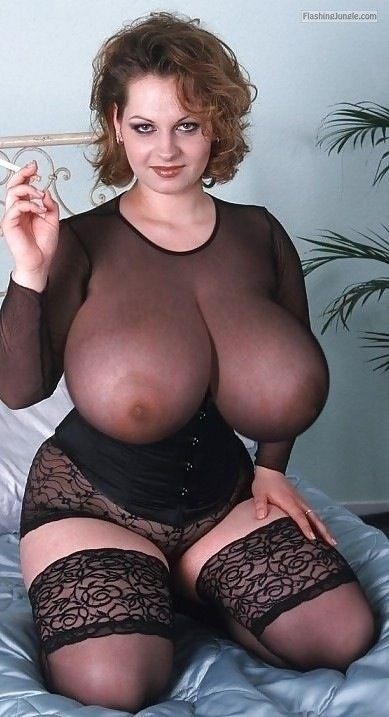 Monster tits see trough blouse milf pics boobs flash