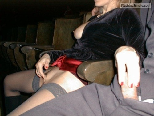 GF cinema handjob and masturbation public sex milf pics howife