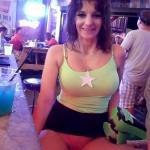 Now at Jimmies Grille Pantieless and smiling
