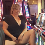 Chubby blonde cougar casino
