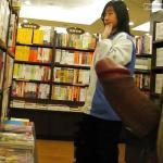Hard cock for japanese teen in bookstore