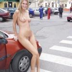 European blonde fully naked