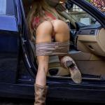 Pantieless wife walmart parking