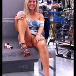 Pantyless NIKI and I at the Wal-Mart Pharmacy Paradise…