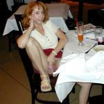Panties aside in restaurant: Redhead GF is feeling slutty