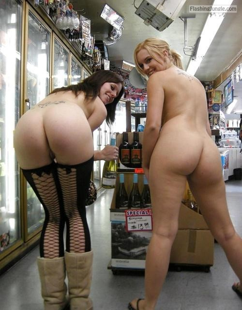 "amafun: i don't know if you ""need"" the wine section, but I'll be... public nudity"