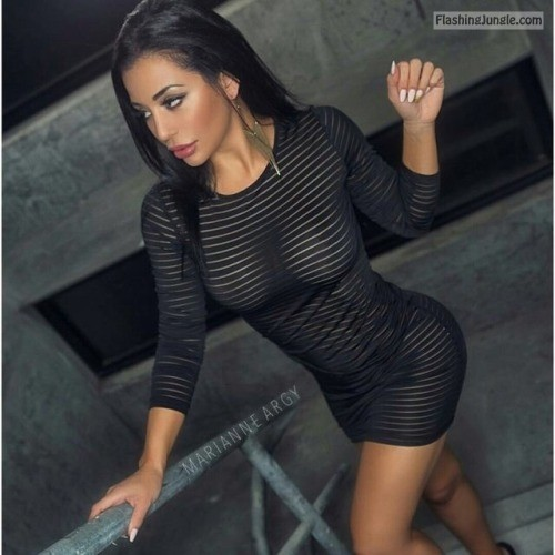 tellafina: Sexy ; )I like your dress : ) public flashing
