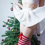 mywishhercommand: Santa's little helper came out to play…Merry…