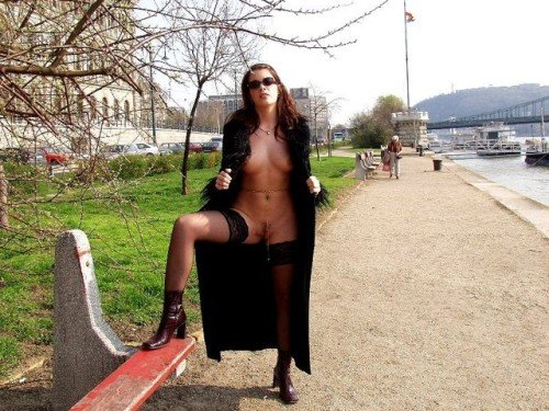 Photo public flashing