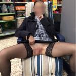 reddevilpanties: Shopping is so much more fun without knickers!…