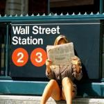 commandofashion: Wall street upskirt