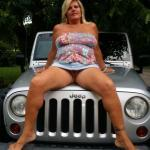 Commando jeep girl