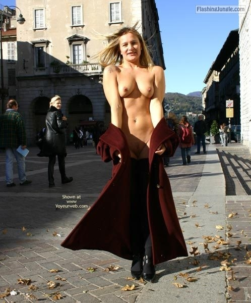 Follow me for more public exhibitionists:... public flashing
