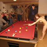 fanofenf: Rebecca was never good at pool. Even still, she…