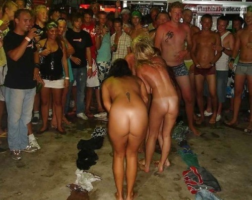 enf findings:Either a strip game, or an initiation, but these... public flashing