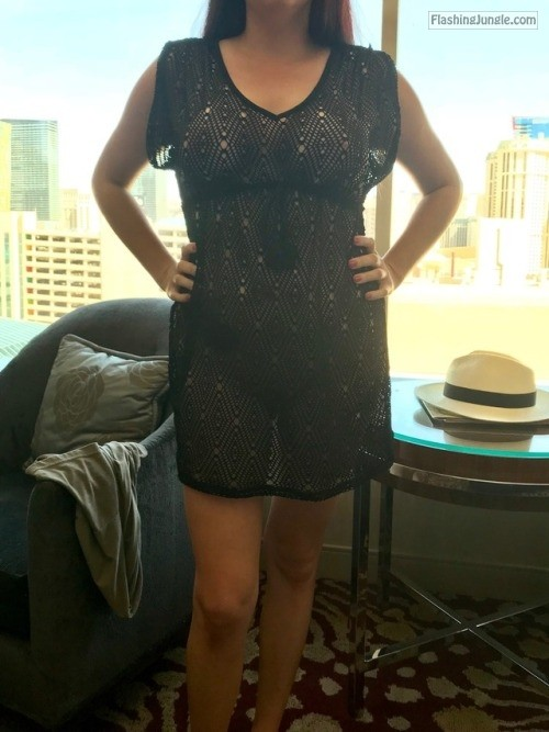 funlittlewife: Too bad I can't wear this to the wet republic... no panties