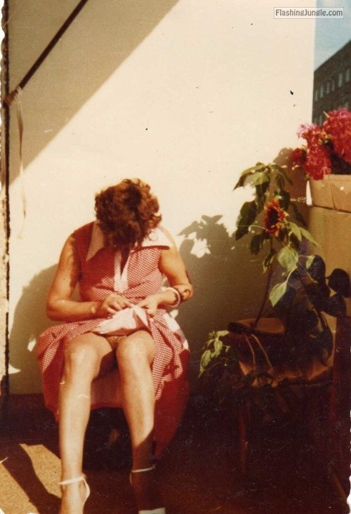 Grandma…back in the day… public flashing