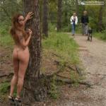 caughtnakedbabes: Follow me for more public exhibitionists:…