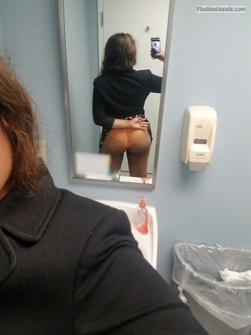 midnightsexcapades: And yes I'm wearing panties today! They're... no panties