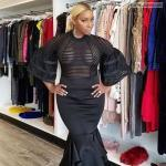 carelessinpublic:Nene Leakes showing her big boobs inside a shop…