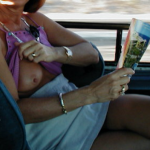 yourhappytraveler:Back seat of a cab in Cabo.