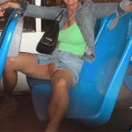 yourhappytraveler: Public bus ride in Cancun.