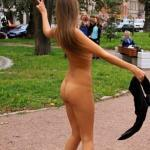 cfnf-clothed-female-naked-female: A Beautiful-Nude-Girl Walking…