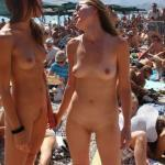 cfnf-clothed-female-naked-female: Two Naked Girl's Attend a…