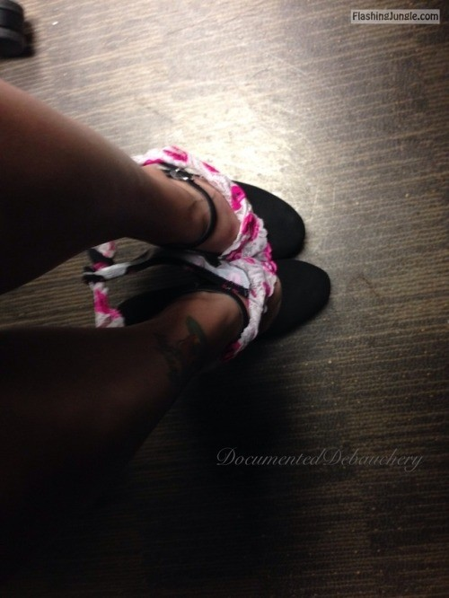 documenteddebauchery: I sent Daddy my daily pictures like I do... no panties