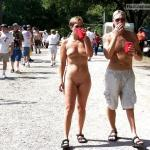 sexual-in-public:public nudity Follow me for more public…