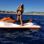 myfilthyvixen: Even Seadoing in Cabo is sexy and fun with my…