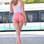 Jody is a gorgeous blonde who figures out a way to flash her…