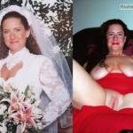 Redhead bride's leaked nudes