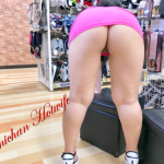 emichanhotwife is always panty-less when go shopping