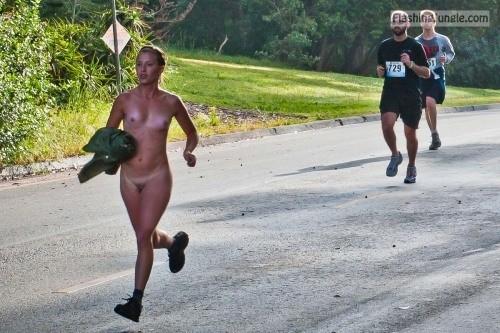 jogging nude sex stories