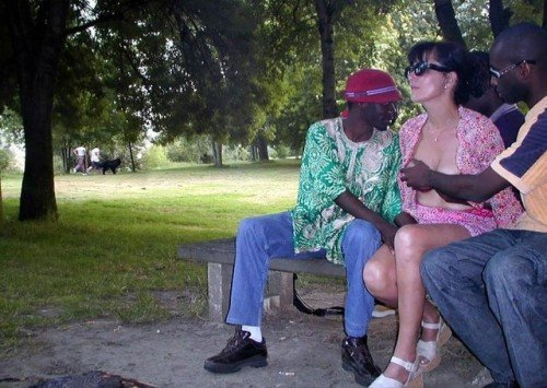Groped & felt up up by strangers in the park… public flashing