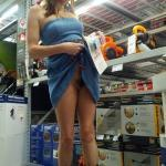 nudistcouplencva: Wife knows how to keep me shopping
