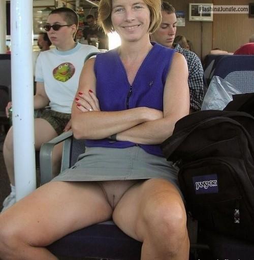 Amateur Public French Upskirt