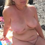 Chubby blonde hotwife sharing nude pics