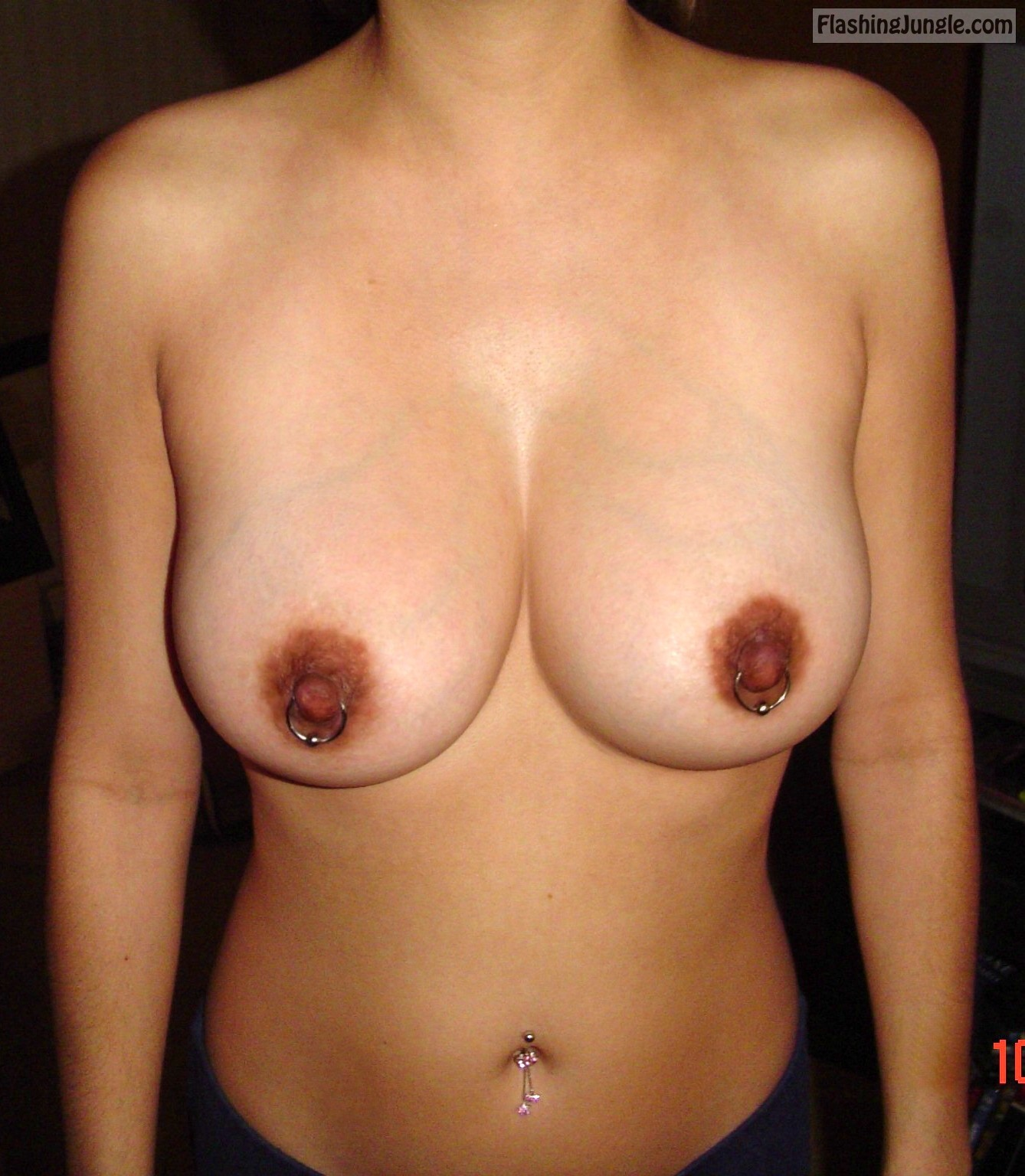 Our beauty Nina Mercadi big natural tits submission