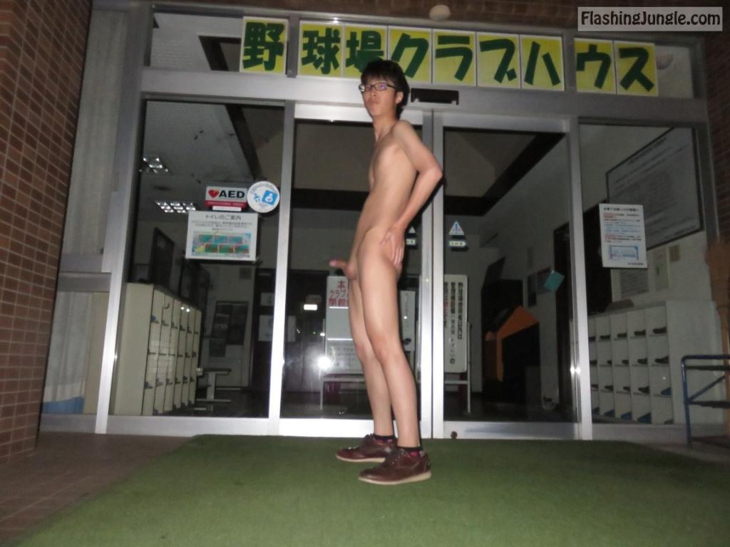 Naked Asian Femboy Public Nudity Dick Flash Pics From -7417