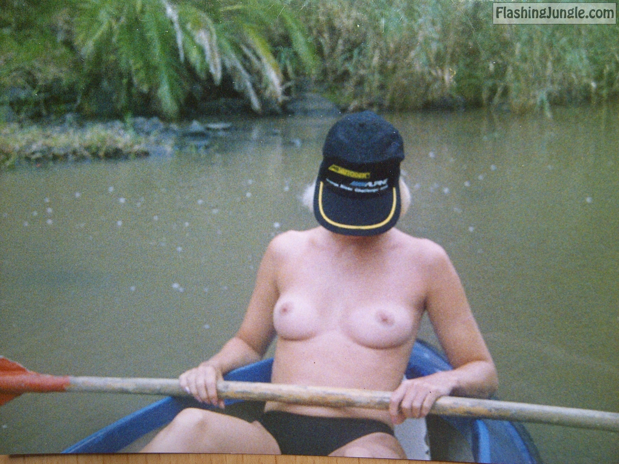 Very shy wife topless in boat real nudity public nudity public flashing milf pics boobs flash