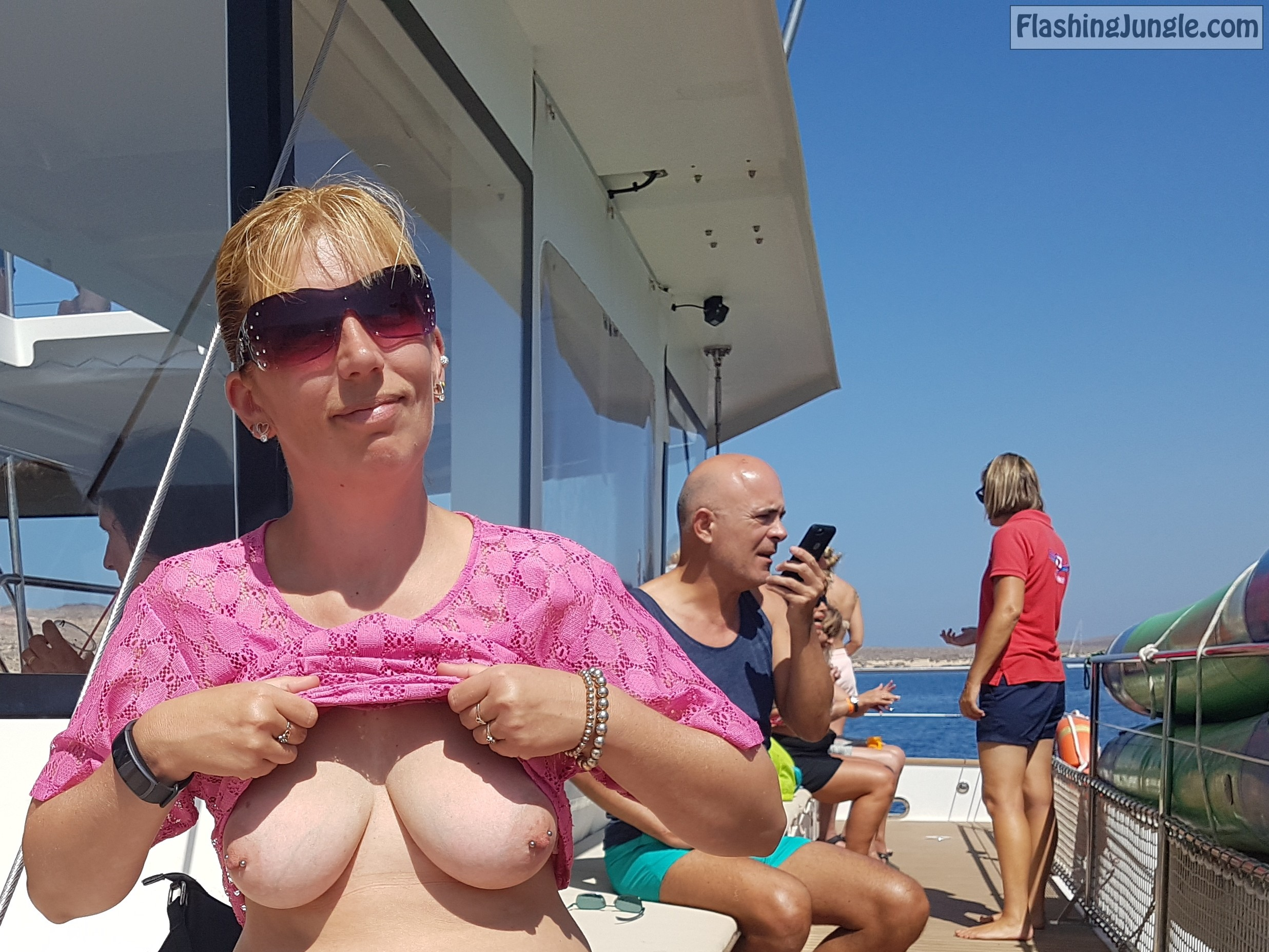 Real Nudity Public Flashing Pics MILF Flashing Pics Hotwife Pics Boobs Flash Pics