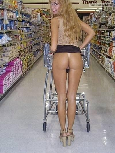 No Panties Pics Flashing Store Pics Ass Flash Pics